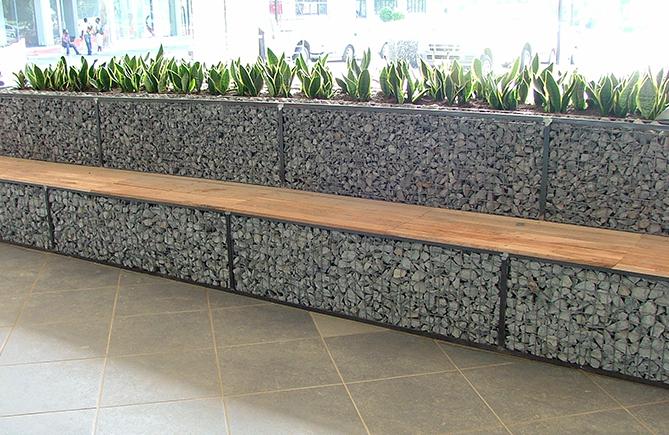 superb mur soutenement bois 4 gabion murette. Black Bedroom Furniture Sets. Home Design Ideas